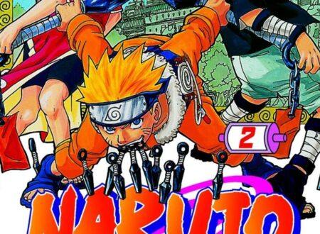 Naruto (volume 2 – 3 – 4) di Masashi Kishimoto.